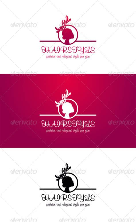 hairstyle templates hairstyle logo template fashion and by djjeep