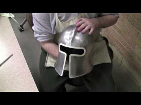 How To Make A Paper Mache Football Helmet - paper mache spartan hats invitations ideas