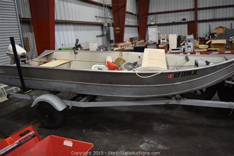 western aluminum boats north state auctions auction alliance kingdom builders