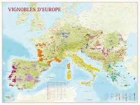 maps showing wine vineyards and grape varieties in
