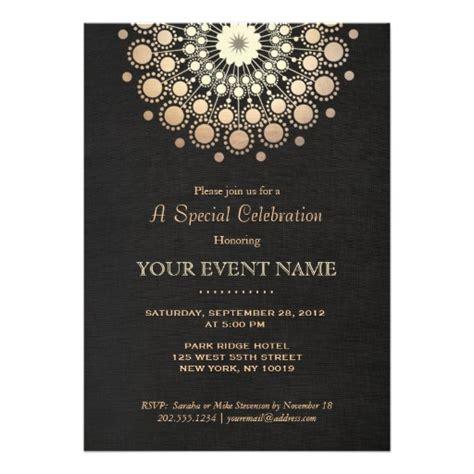 formal birthday invitation templates corporate invitations