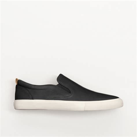 coach slip on sneaker coach niles slip on sneaker in black for lyst