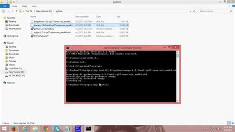 python tutorial greek installing 64 bit numpy scipy and biopython on python2