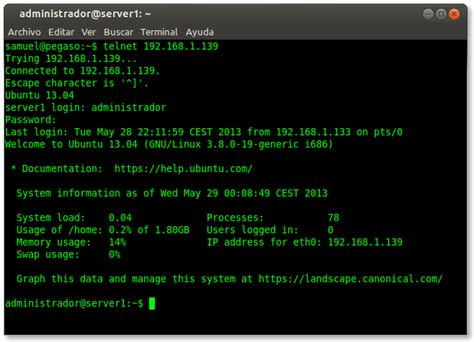 tutorial telnet ubuntu administrar ubuntu server mediante telnet the bit developer