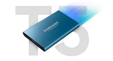Harddisk Ssd Samsung by Samsung Releases New T5 Ssd Tiny Fast 4k