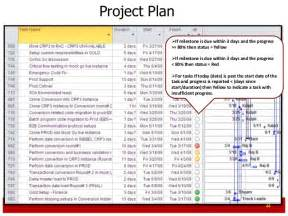 Erp Project Plan Template by Erp Project Management Primer