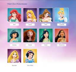 Gallery of disney princesses names