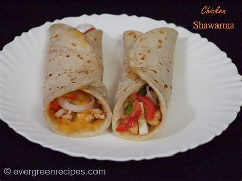 Whole Chicken Evergreen chicken shawarma recipe with step by step pictures