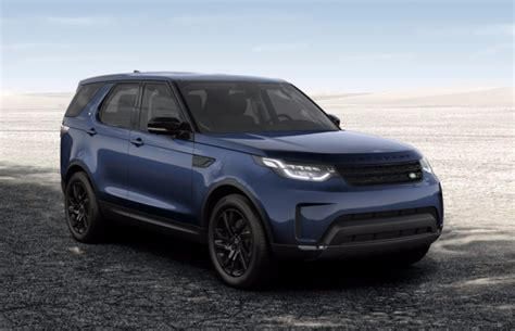 blue land rover discovery 2017 land rover discovery 2017 couleurs colors