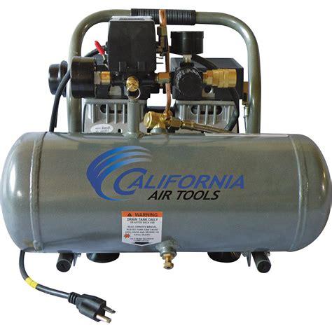 california air tools ultra free air compressor 1 hp 1 6 gallon model 1610a 1