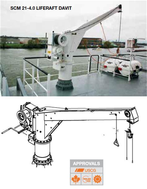 zodiac lifeboat palfinger ned deck liferaft davit marine consultants limited