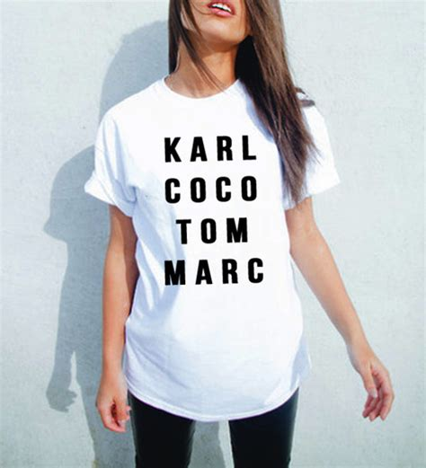 Coco Channel You Tshirt t shirt karl lagerfeld chanel inspired chanel chanel t shirt graphic slogan