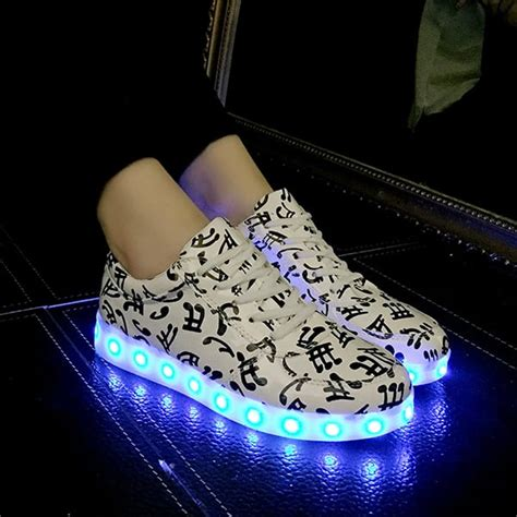 note light up shoes musical note led light up shoes apollobox