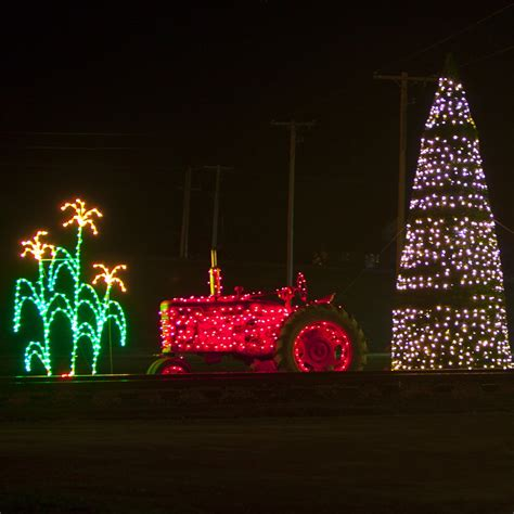 mount pleasant festival of lights christmas display