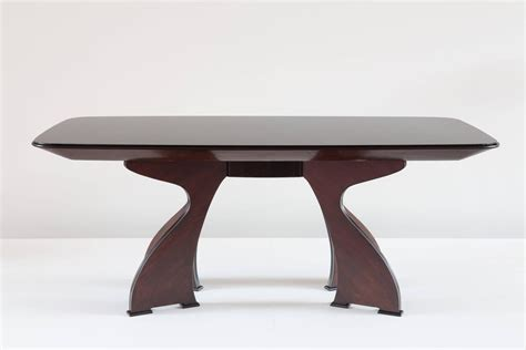 stunning unique italian modern rosewood dining table