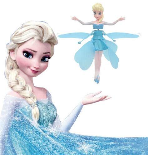 Mainan Anak Mainan Flying Frozen Dolls Boneka Elsa Bisa Terbang boneka frozen terbang flying frozen elsa gratis ongkos kirim