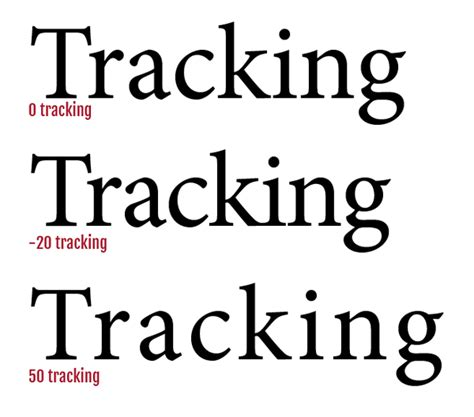 String Font - tracking the text magazine designing