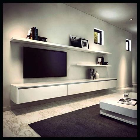best 25 floating cabinets ideas on pinterest ikea lovely floating tv wall unit 62 interior mounted units