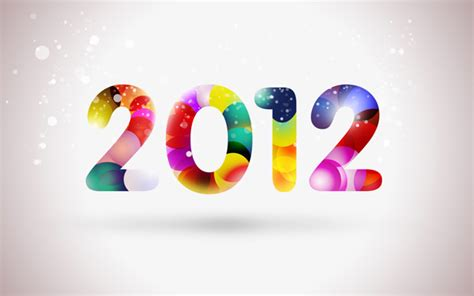 tutorial photoshop new year how to create happy new year 2012 colorful greeting card