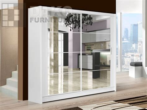 Large Sliding Door Wardrobes by Modern Quality 2 Sliding Door Large Wardrobe Dako Dakota