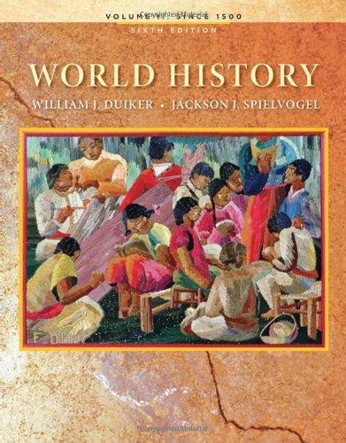 2 world history volume ii since 1500 books isbn 9780495569039 world history volume ii since 1500