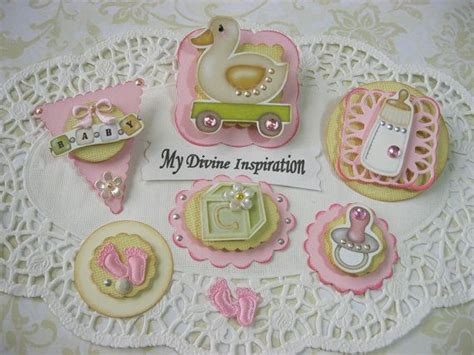 baby embellishments for card baby paper embellishments scrapbook embellishments