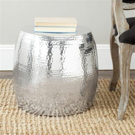 silver barrel side table 33 couchtische und beistelltische in silber