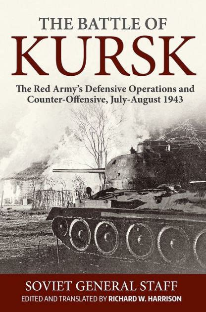 libro the armies winner of the battle of kursk the red army s defensive operations and counter offensive july august 1943