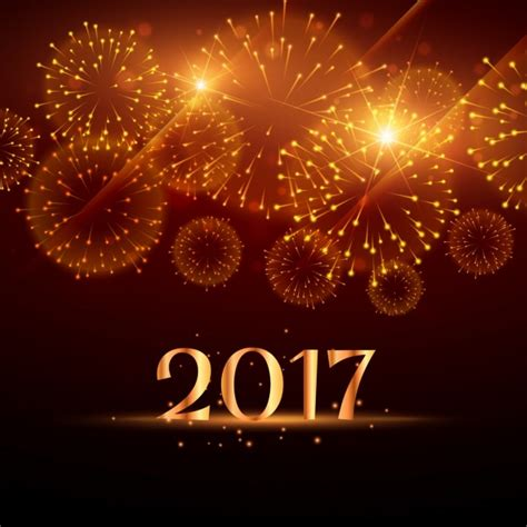 new year 2012 golden golden new year fireworks background vector free