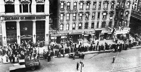 bank rund new york bank run 1930 by granger