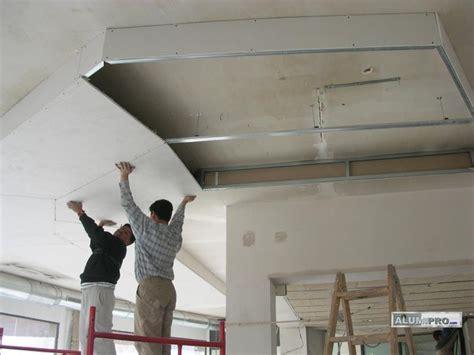 instalacion de pladur en techos proceso de instalaci 243 n de falso techo pladur para local