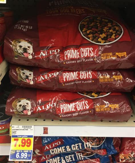 dog food coupons kroger alpo prime cuts dog food 14 lb only 5 49 at kroger