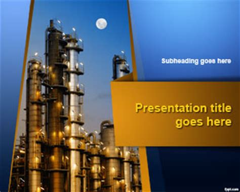 industrial powerpoint templates free industrial plant powerpoint template