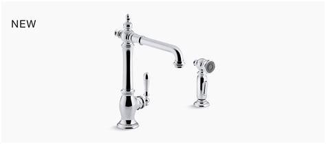 Consolidated Plumbing by Artifacts 174 Kitchen Sink Faucet Swing Spout W Spray