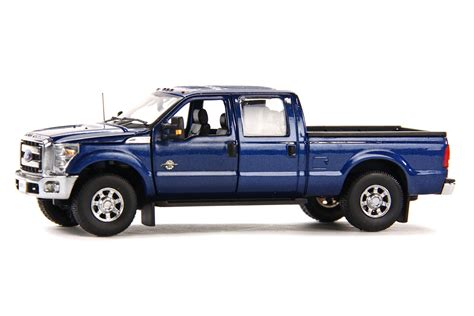 ford f250 bed ford f250 pickup truck w crew cab 6ft bed dark blue