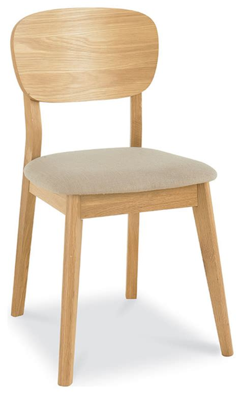 vaasa bettina modern style veneer back chair oak
