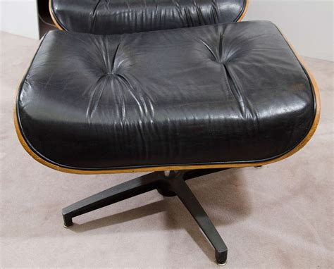 eames style lounge chair ottoman midcentury eames style lounge chair and ottoman at 1stdibs