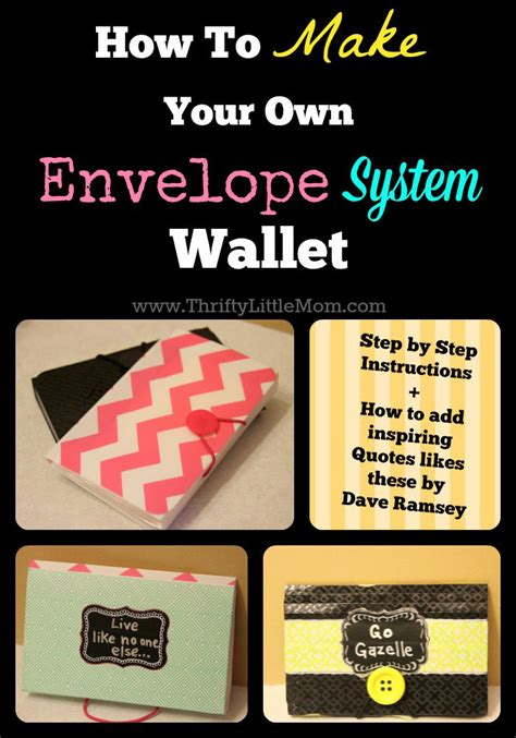 how to make your own envelope how to make your own envelope system wallet 187 thrifty