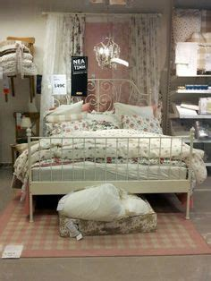 bett dekorieren ikea leirvik bedroom home frames lace and