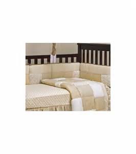 cocalo snickerdoodle crib bumper