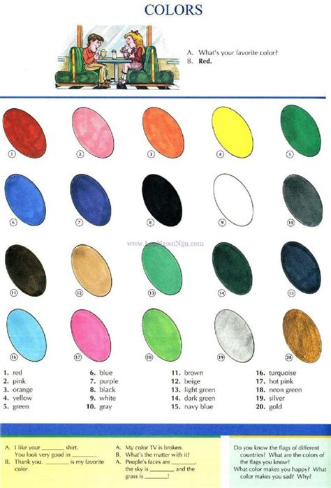 Color Picture Dictionary study picture dictionary and color pictures on