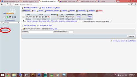 tutorial php html tutorial php meter datos desde un a una base de datos