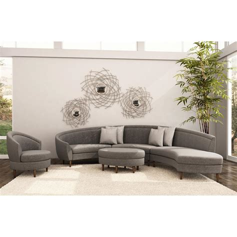Small Curved Sectional Sofa Furniture Using Curved Small Curved Sofas