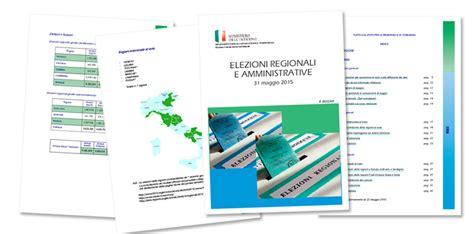 ministero degli interni elezioni regionali amministrative e regionali 31 maggio al voto