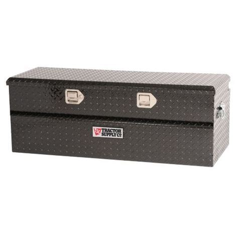 b and p l supply tractor supply co 174 single lid aluminum chest tool box