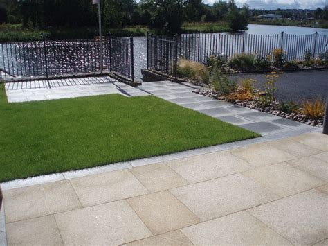 Yellow Patio Pavers Yellow Granite Paving Ced Ltd For All Your