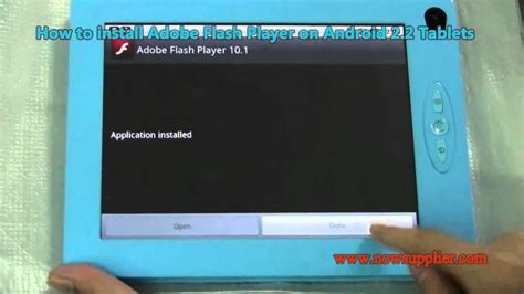adobe flash player for android tablet how to install adobe flash player on android 2 2 tablets for