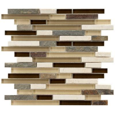 home depot glass tile merola tile tessera piano nassau 11 3 4 in x 11 3 4 in x