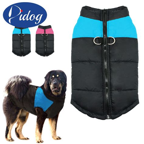 jacket for dogs clothes for large big winter coat jacket dogs vest pet clothing winterproof