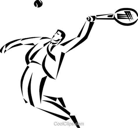 gesch 228 ftsmann tennisspieler vektor clipart bild vc050413 coolclips